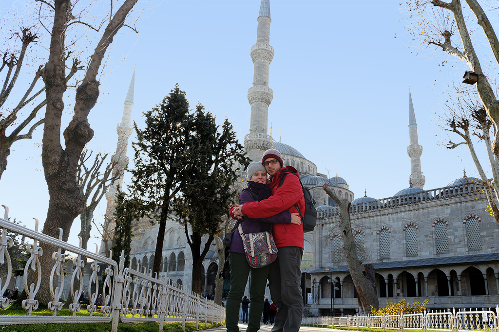 Jardines mezquita Azul