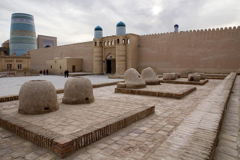 Khiva al atardecer