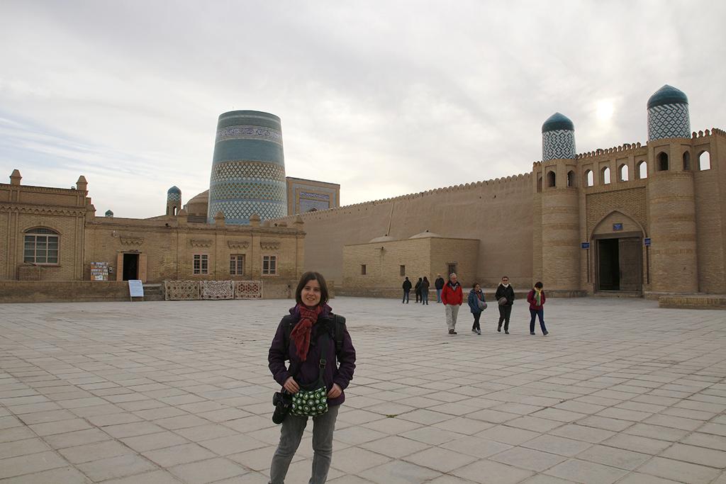 Khiva por las tardes sin apenas turistas