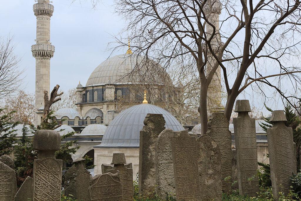 Lapidas cementerio de Eyup