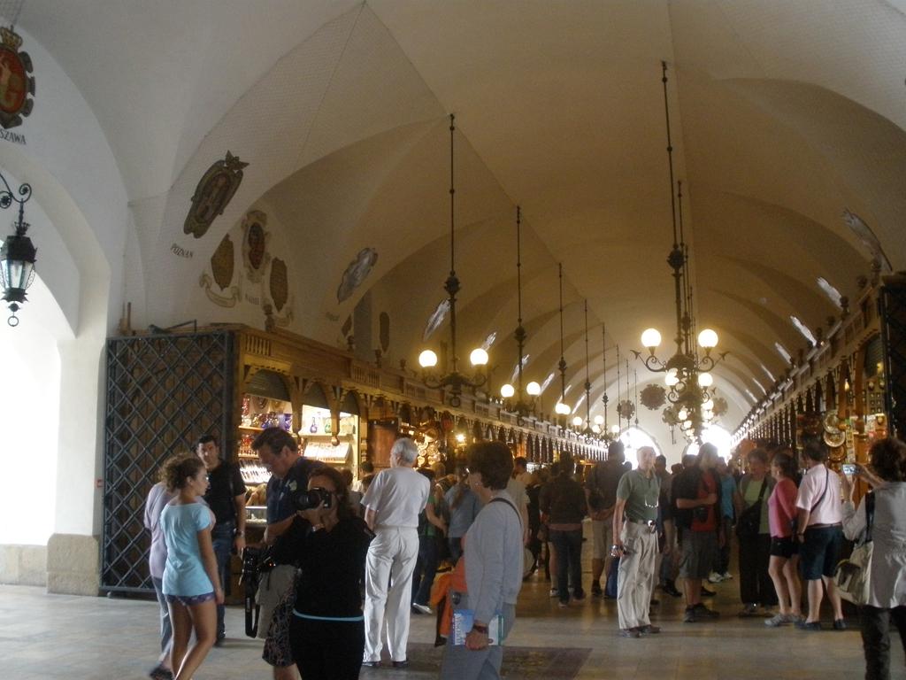 Lonja de los panos en Cracovia