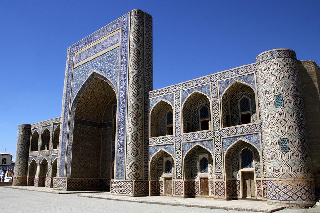 Madraza Abdullah Khan en Bukhara