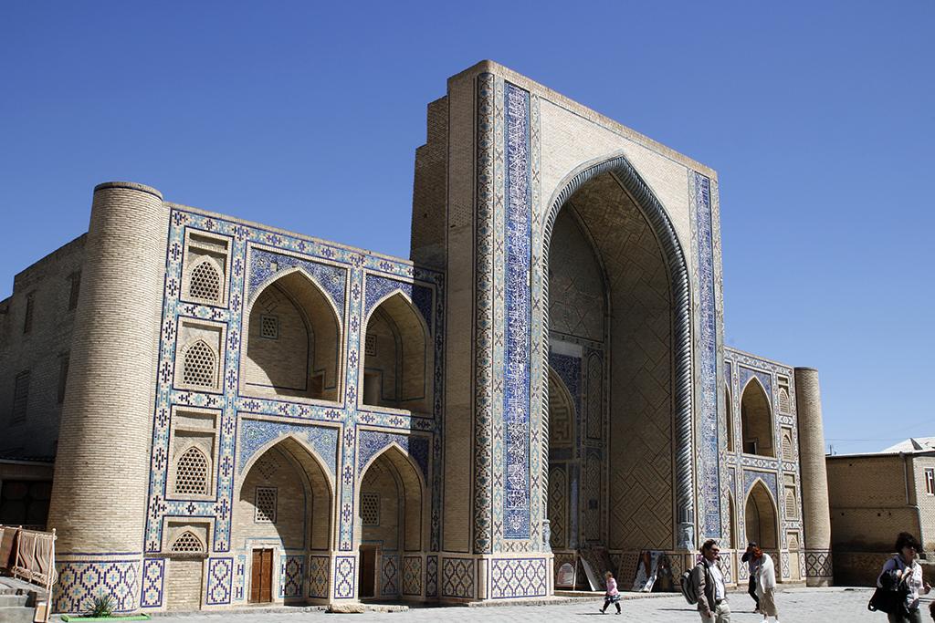 Madraza de Ulug Beg en Bukhara