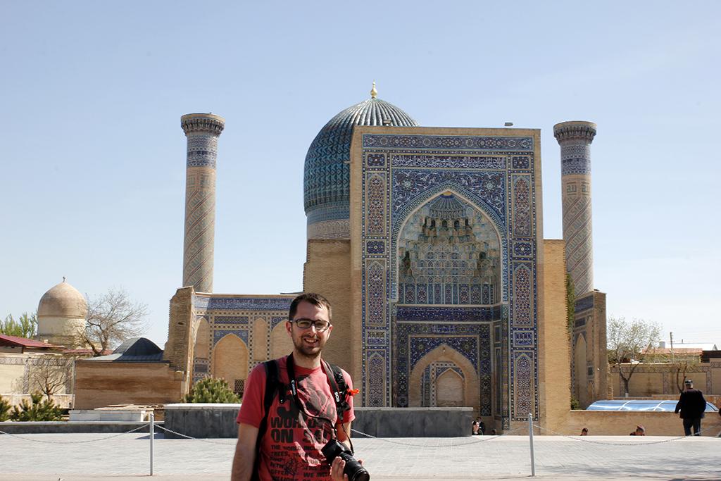 Mauseleo de Gur-e Amir en Samarcanda