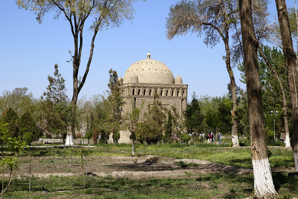 Mausoleo Ismail Samani en Bukhara