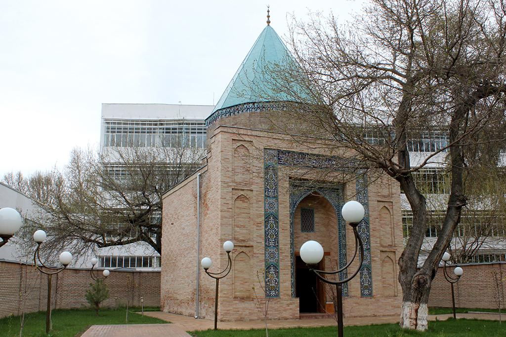 Mausoleo de Kaldirgochbiy en Tashkent