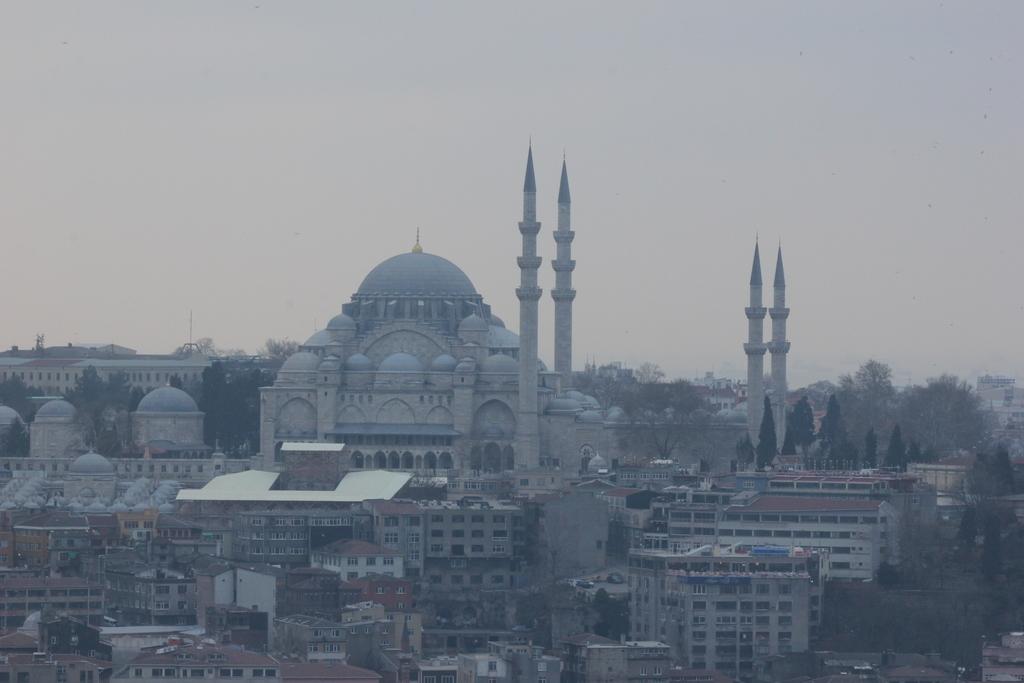 Mezquita Suleymaniye vista desde la Torre Galata