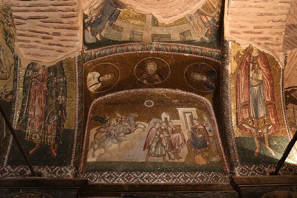 Mosaicos en San Salvador de Chora Estambul