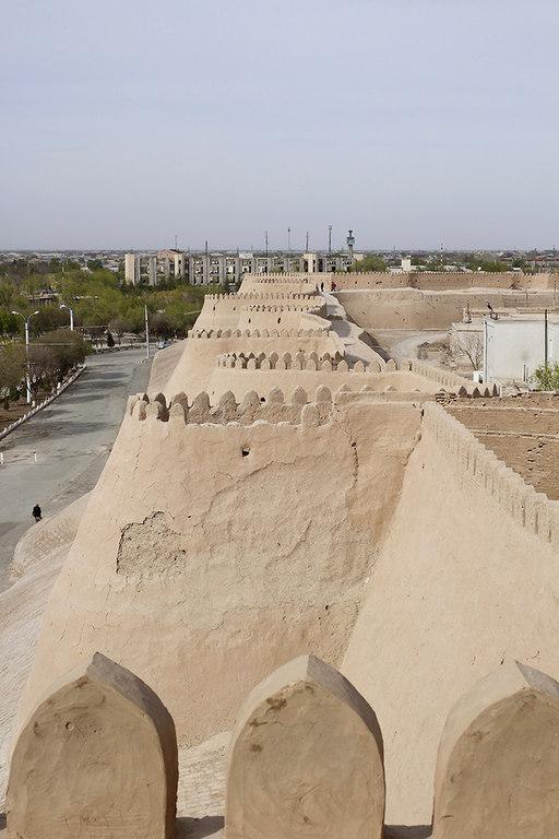 Muralla del Itchan Kala en Khiva