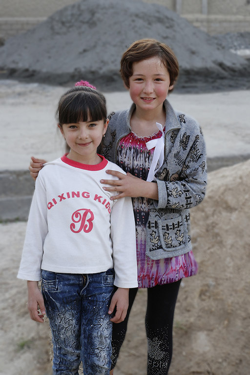 Niñas en Samarcanda - Uzbekistan