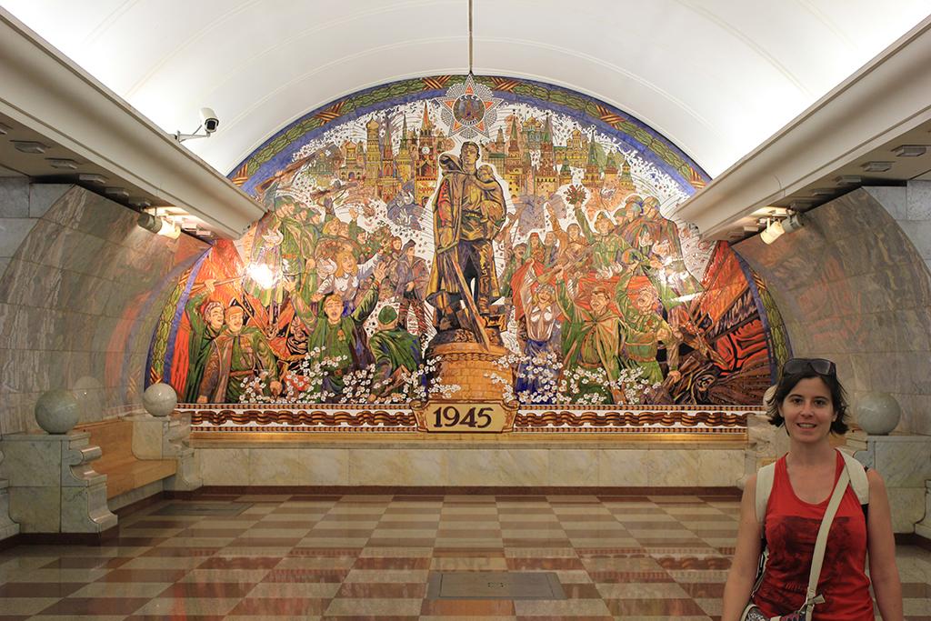 Novokuznetskaya - Metro Moscu
