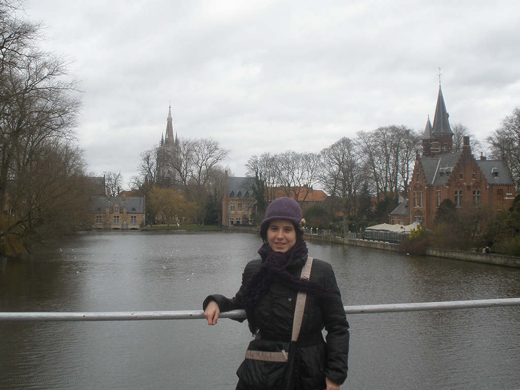 Lago del amor en Brujas