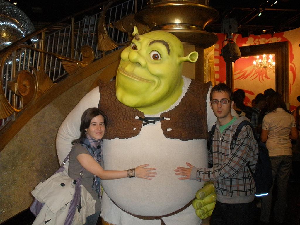 Shrek en el Madame Tussauds de Londres
