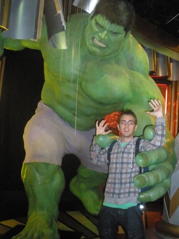 Hulk en el Madame Tussauds de Londres