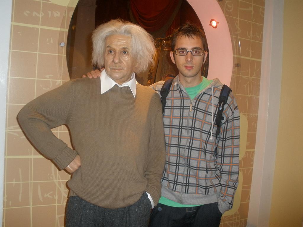 Albert Einstein en el Madame Tussauds de Londres