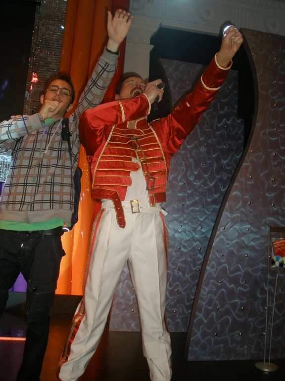 Freddie Mercury en el Madame Tussauds de Londres