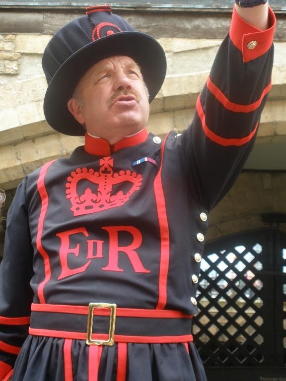 Beefeters de la Torre de Londres