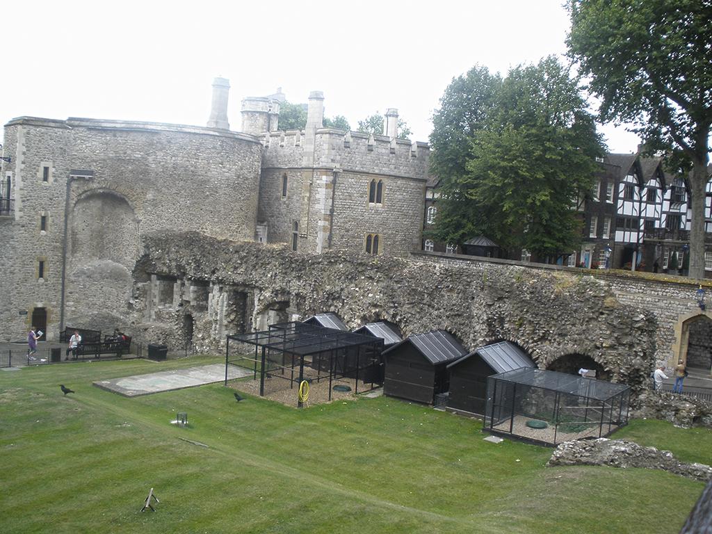 Jardines de la Torre de Londres