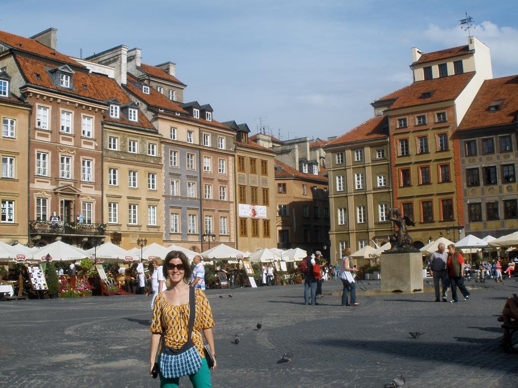 Centro Varsovia - Patrimonio de la humanidad por la UNESCO