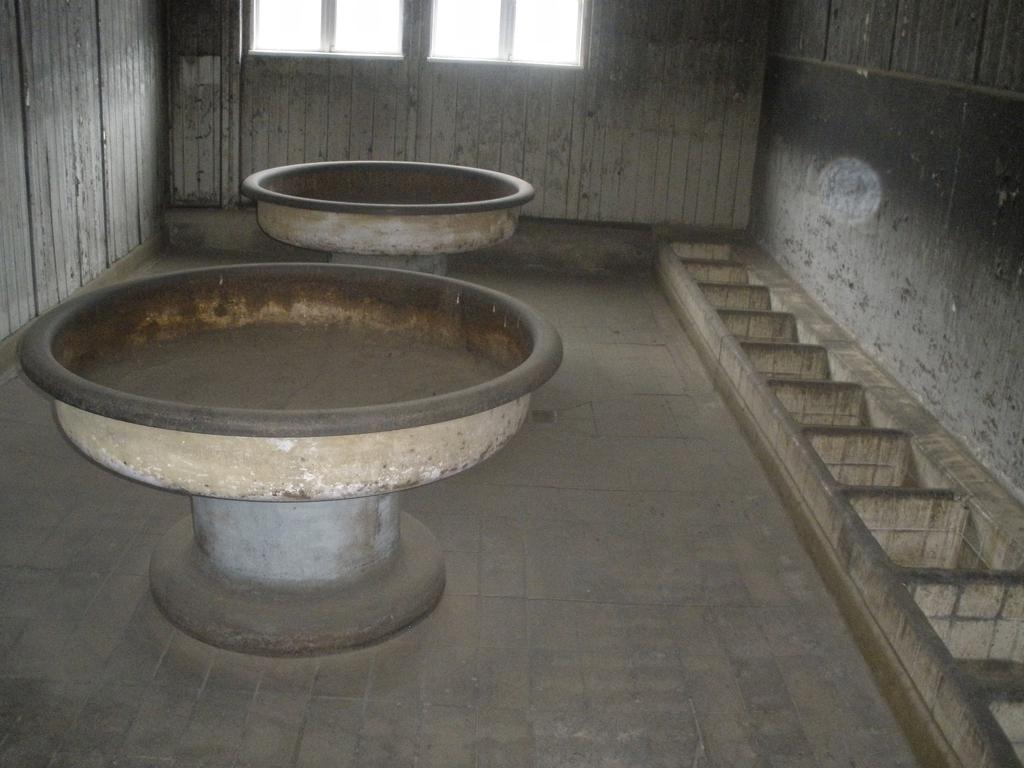 Baños barracones - Sachsenhausen