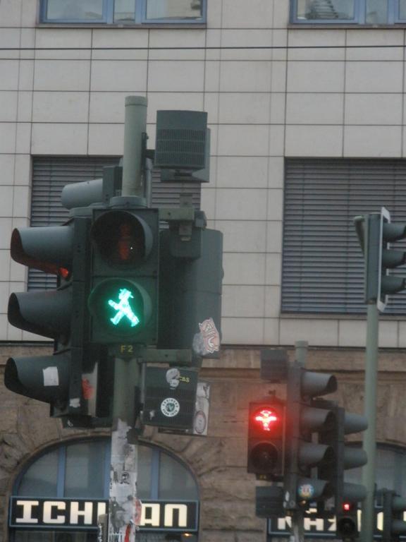 Semáforos con Ampelmännchen
