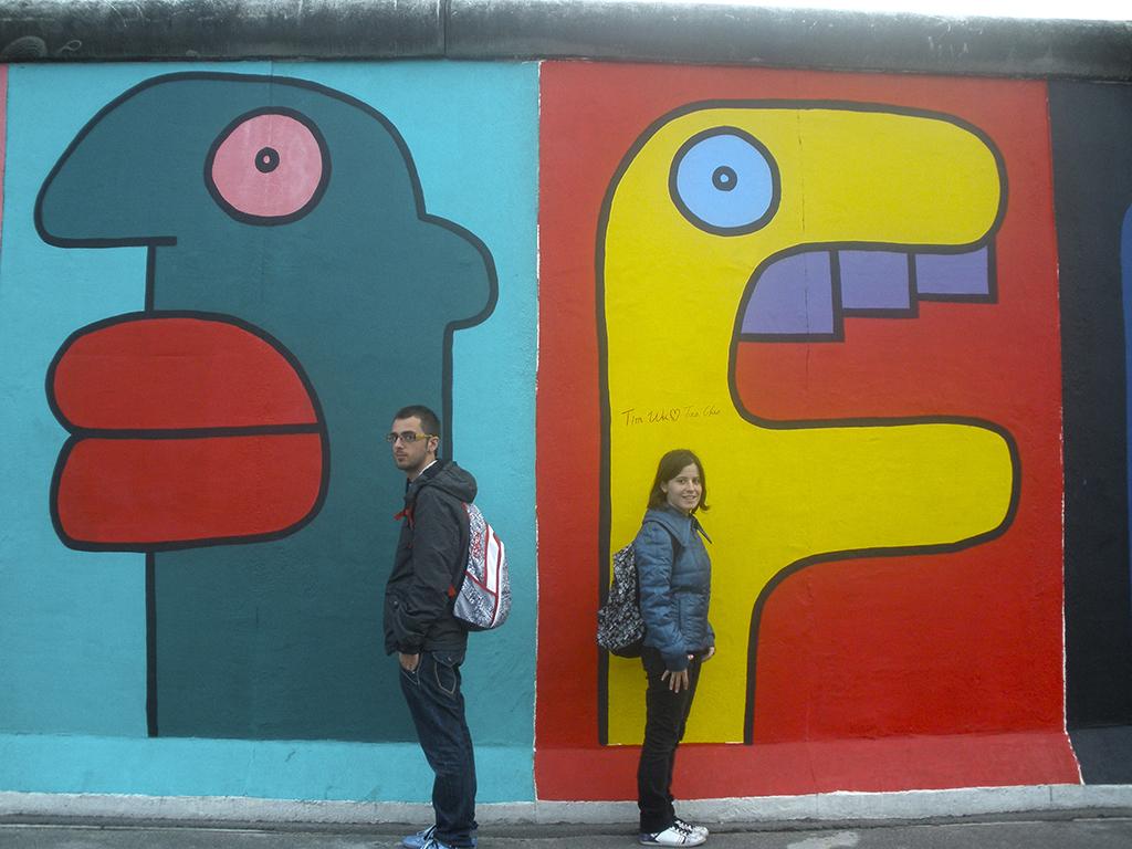 Dos bandos del muro