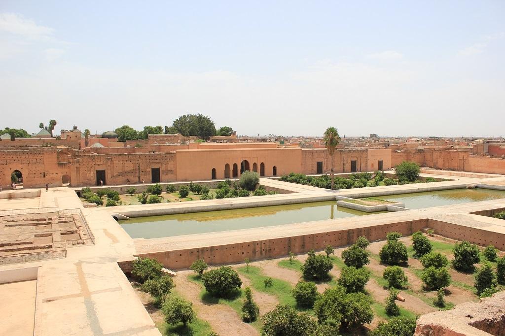 Palacio Badi en Marrakech