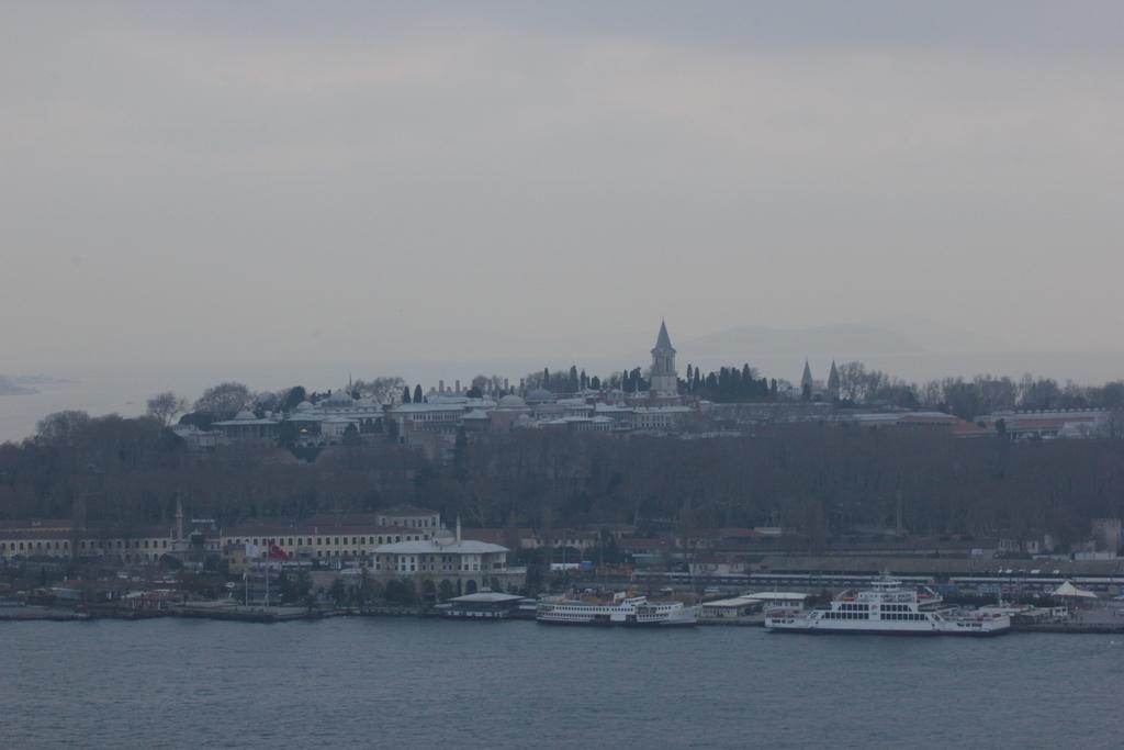 Palacio Topkapi visto desde la Torre Galata