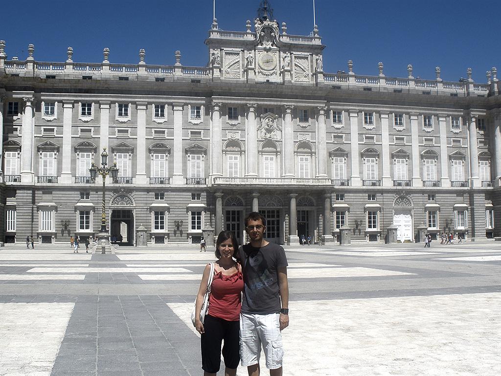 Palacio de Oriente en Madrid