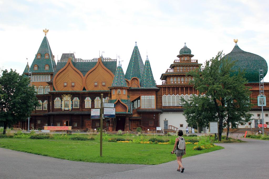 Palacio de madera del zar en Kolomenskoye