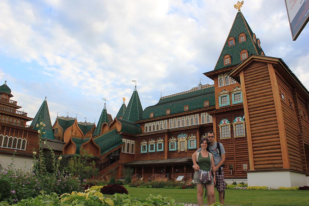 Palacio de madera del zar