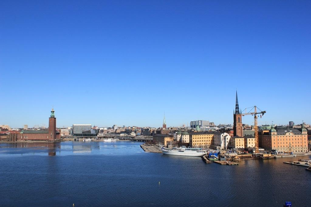 Panorámica de la ciudad de Estocolmo