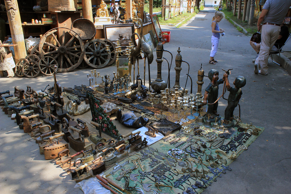 Parada antiguedades en Rusia