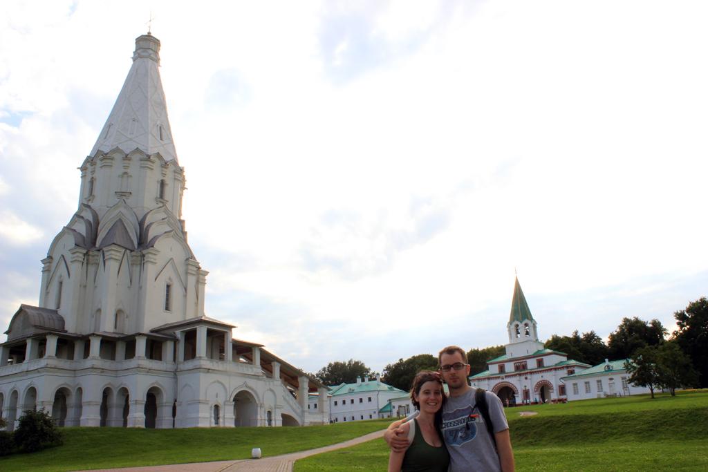 Parque Kolomenskoye en Moscu