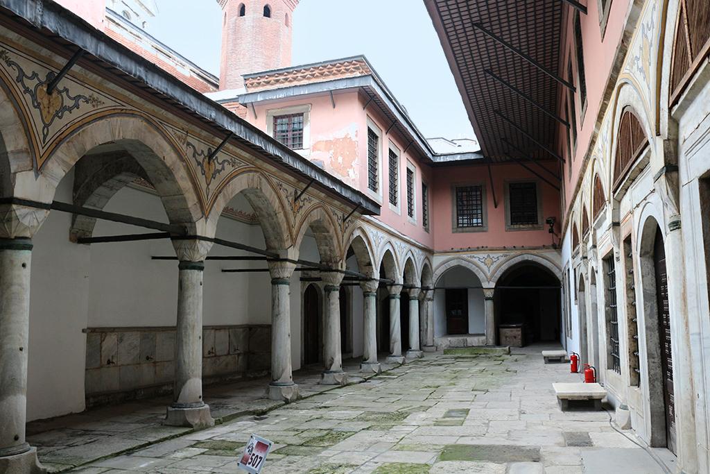 Patio pequeno en el Palacio Topkapi