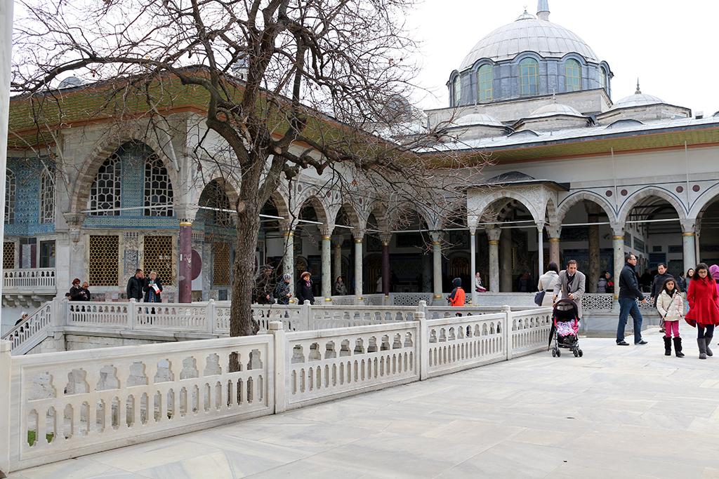 Patios y jardines palacio Topkapi