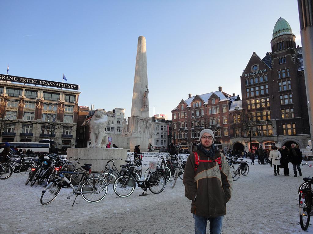 Plaza Dam Ámsterdam
