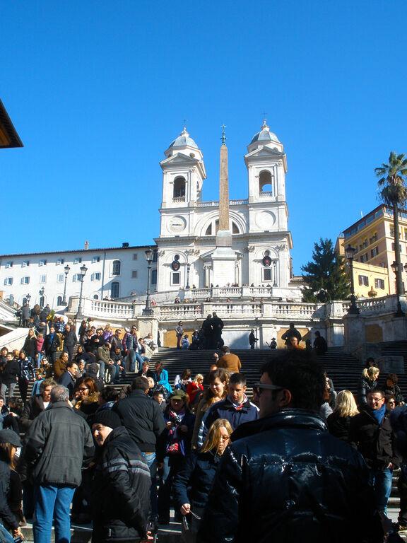 Plaza Espana en Roma