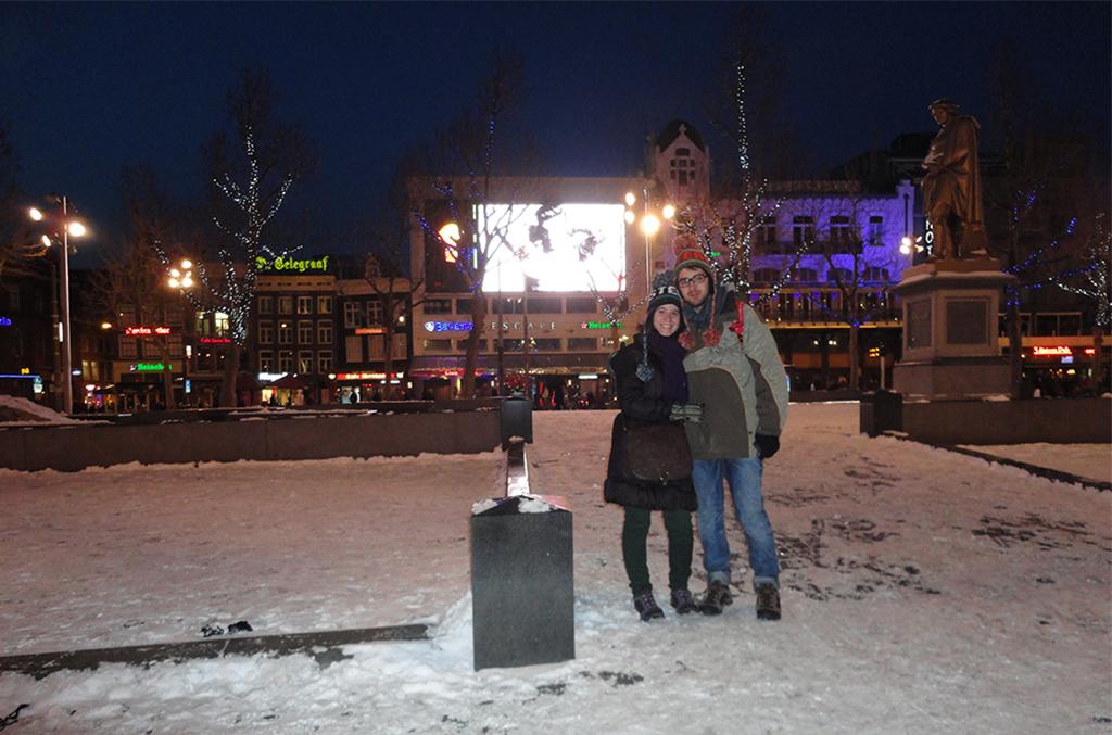 Plaza Rembrandt de Ámsterdam