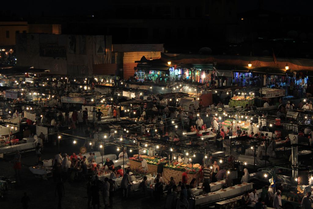 Plaza de Jem al Fna en Marrakech