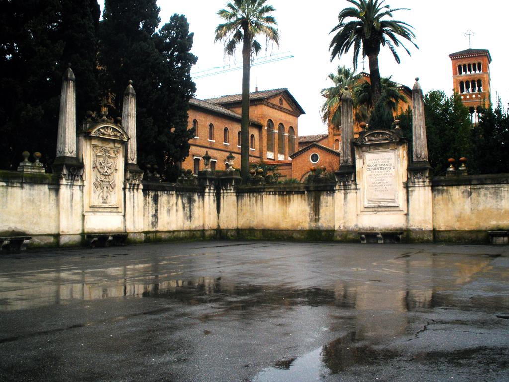 Plaza de los caballeros de Malta en Roma
