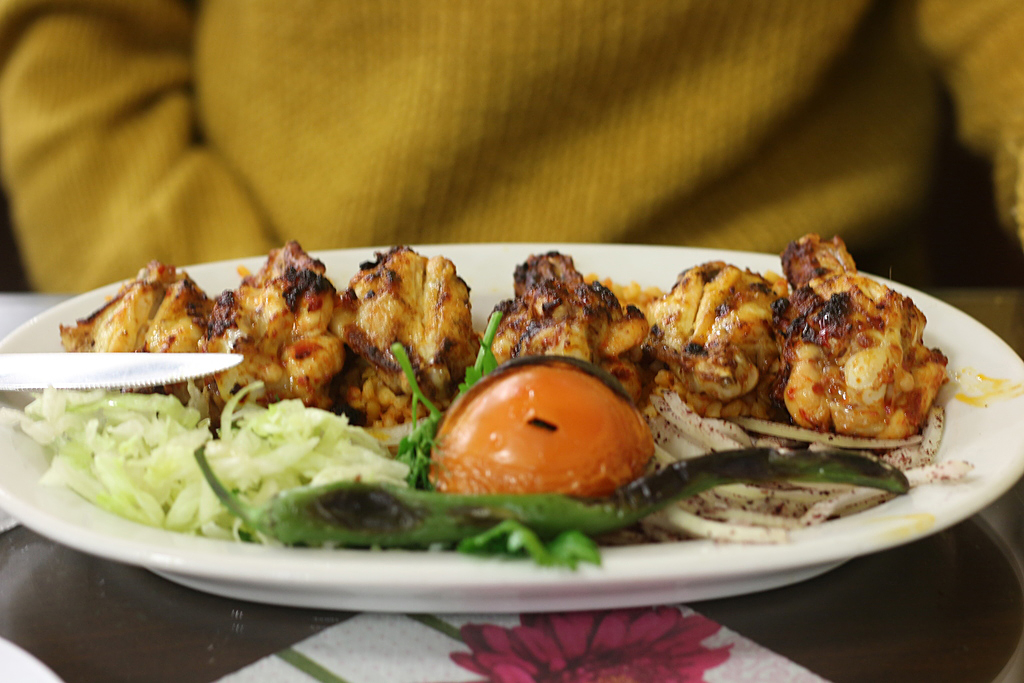 Pollo picante - comida turca
