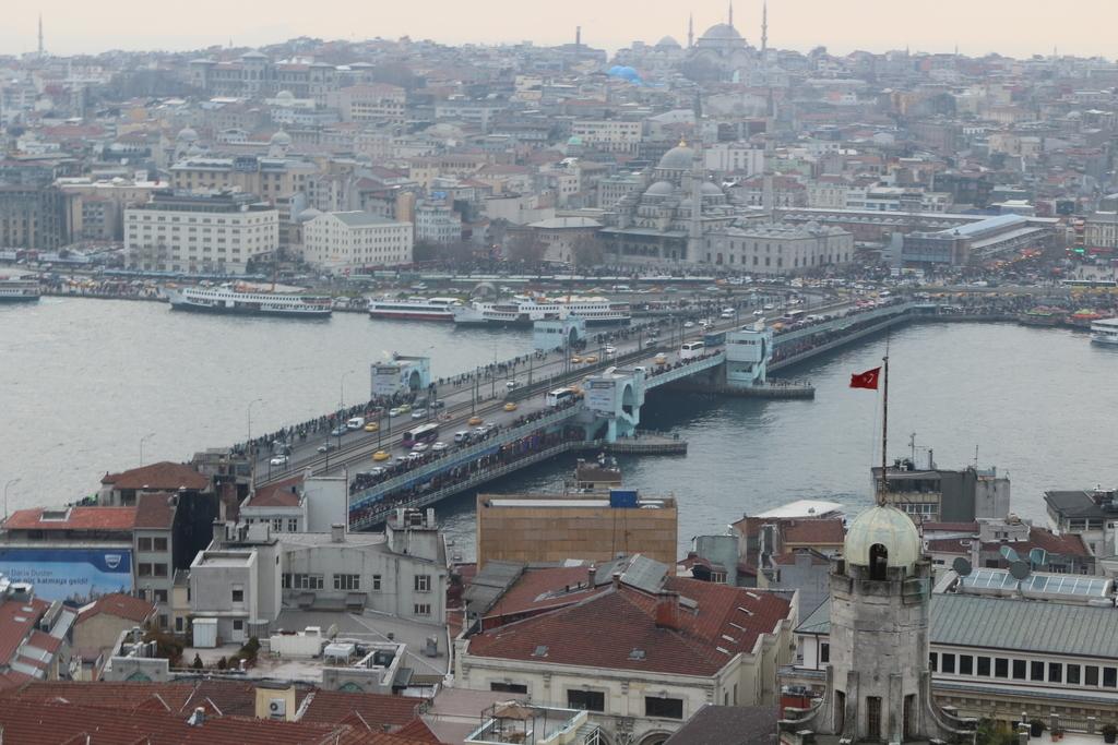 Puente Galata en Estambul