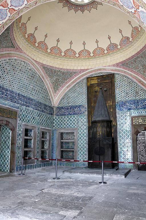 Sala del palacio Topkapi