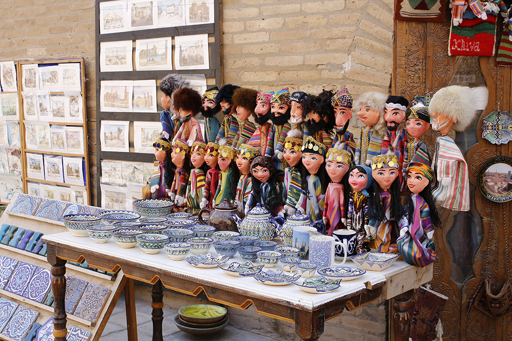 Souvenirs en Khiva