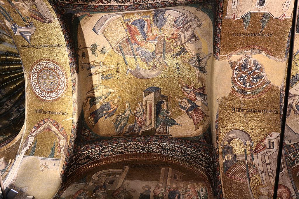 Techos de San Salvador de Chora en Estambul