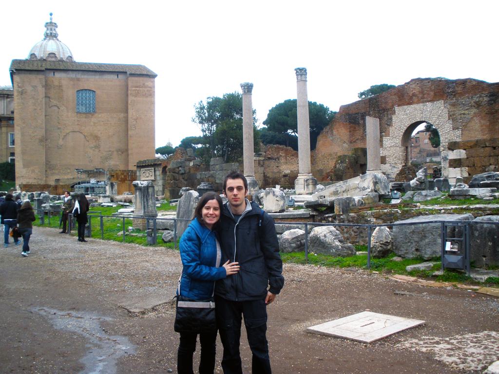 Via Sacra - Foro romano