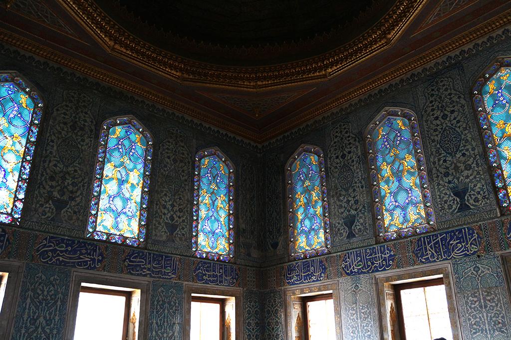 Vidrieras palacio Topkapi - Estambul