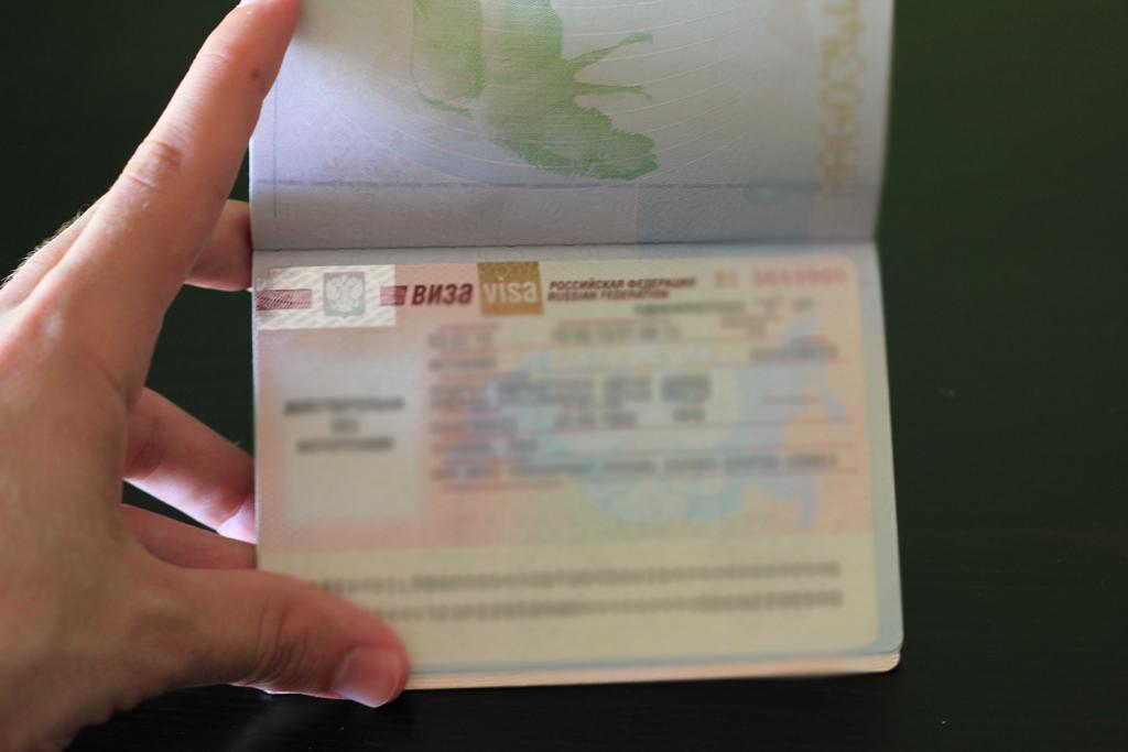 Visado para visitar Rusia