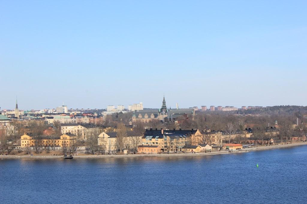Vista aérea de Estocolmo